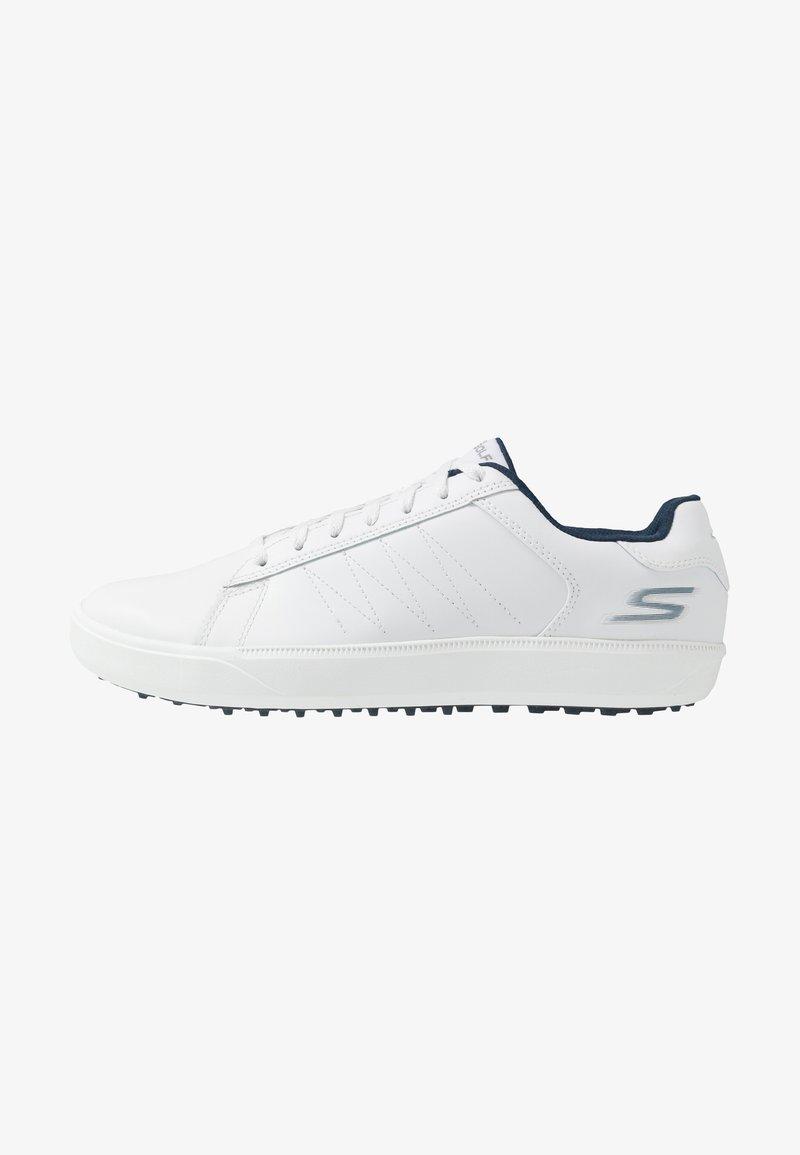 Skechers Performance - DRIVE 4 - Golfové boty - white/navy