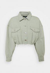 Missguided Petite - Denim jacket - sage - 0