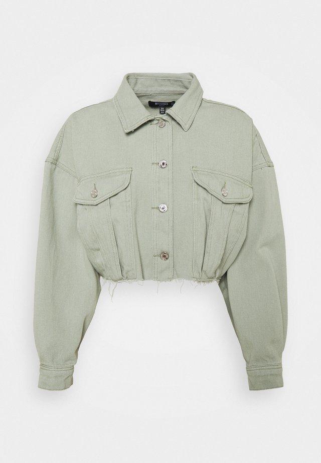 Denim jacket - sage