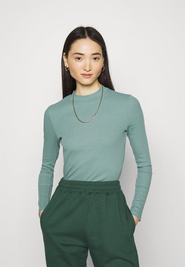 SAMINA - Long sleeved top - petrol green