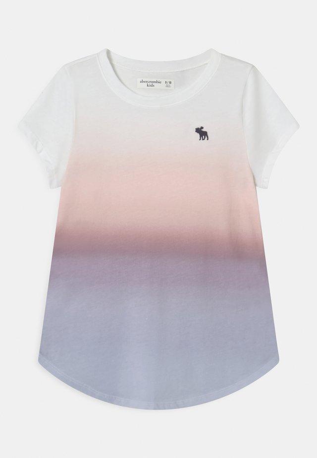 CORE CREW  - T-shirt con stampa - white