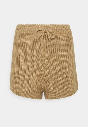 HENRY  - Shorts - cream/camel