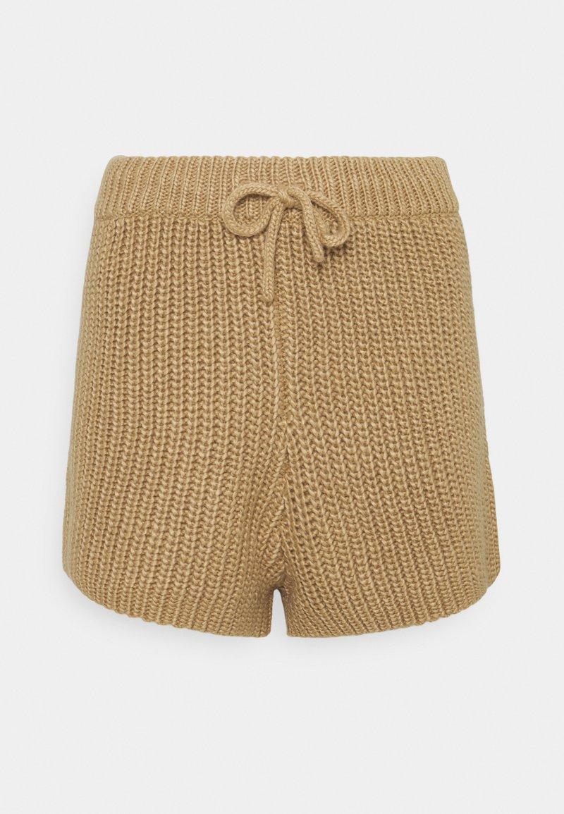 4th & Reckless - HENRY  - Shorts - cream/camel