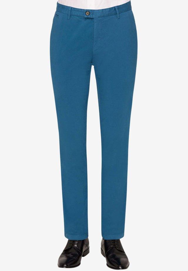 RENE - Suit trousers - blue