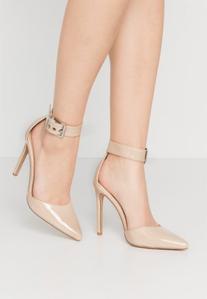 RAPHAEL - Høye hæler - nude