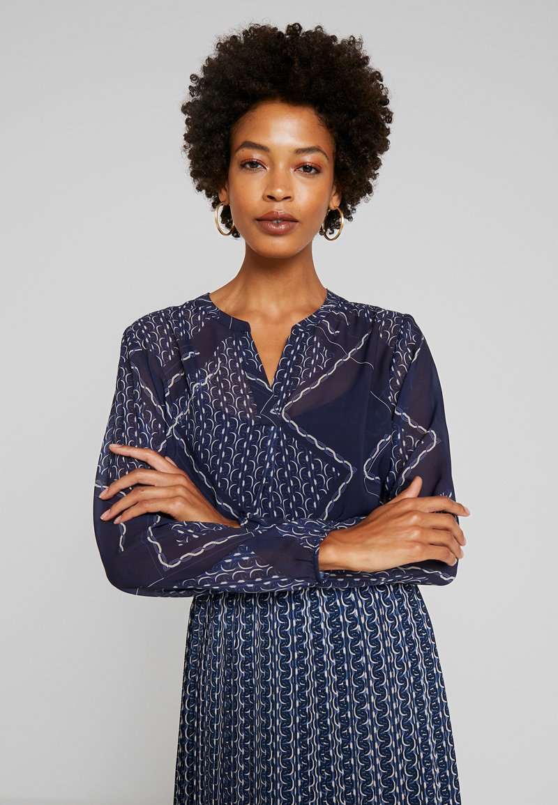 Betty & Co - Blouse - blue/nature
