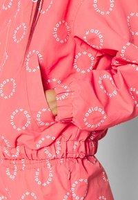 adidas Originals - TRACK TOP - Summer jacket - magic pink/white - 5