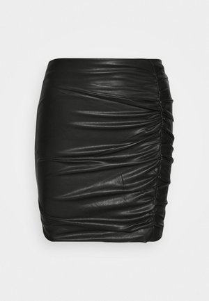 EULALIA SKIRT - Mini skirt - jet black
