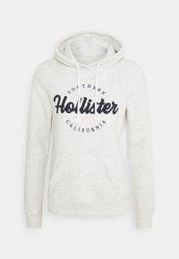 Hollister Co. - CHAIN TECH CORE - Hoodie - grey - 4
