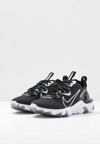 Nike Sportswear - REACT VISION - Trainers - black/white - 4