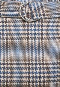 Gina Tricot - SAGA SKIRT - Mini skirt - blue - 5