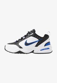 Nike Sportswear - AIR MONARCH IV - Zapatillas - black/white/racer blue - 0