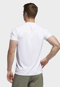 adidas Performance - AEROREADY 3-STRIPES  - T-shirt basic - white - 2