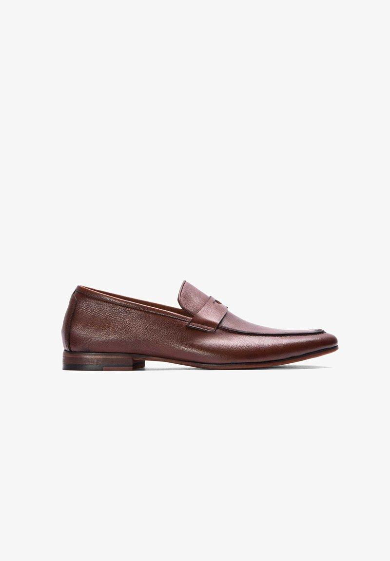 Kazar - SAKAR - Elegantní nazouvací boty - brown