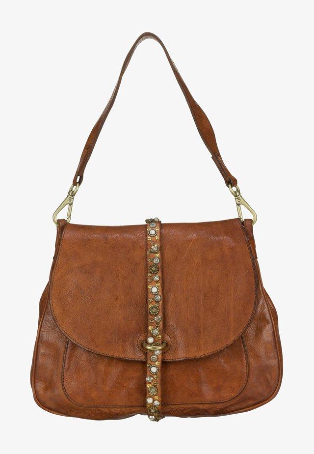 GRETA  - Handbag - cognac