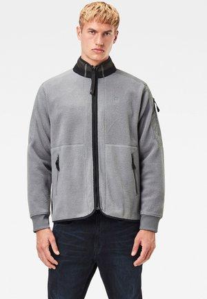 TECH FLEECE ZIP THROUGH - Fleece trui - grey