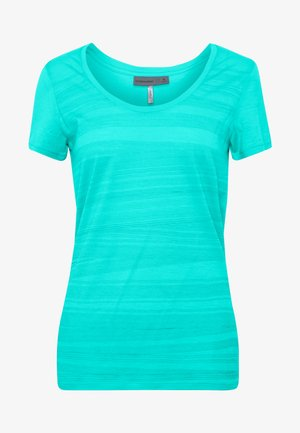 TECH LITE SCOOP 1000 LINES - T-shirts med print - lagoon
