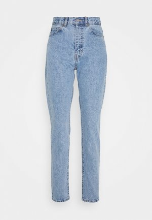 NORA - Džíny Straight Fit - light blue denim