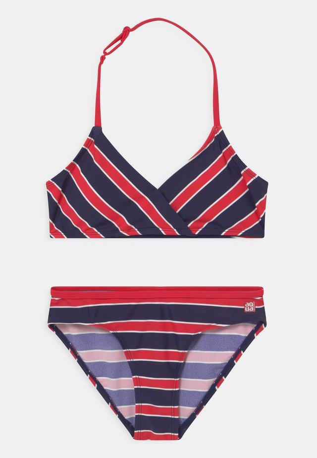 TRIANGLE SET - Bikini - rot
