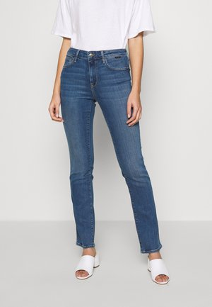 DARIA - Slim fit jeans - blue denim