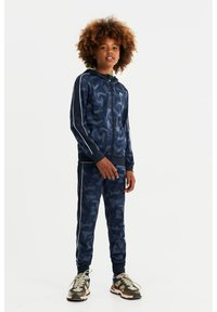 WE Fashion - Tracksuit bottoms - dark blue - 0