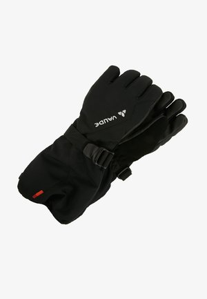 KIDS SNOW CUP GLOVES - Gloves - black