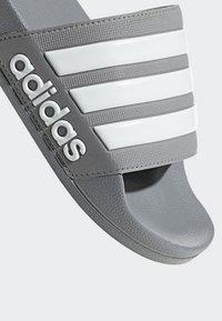 adidas Performance - ADILETTE CLOUDFOAM SLIDES - Pool slides - grey - 9