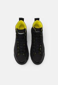 Diesel - ASTICO S-ASTICO MID CUT SNEAKERS - Sneakers hoog - black - 3