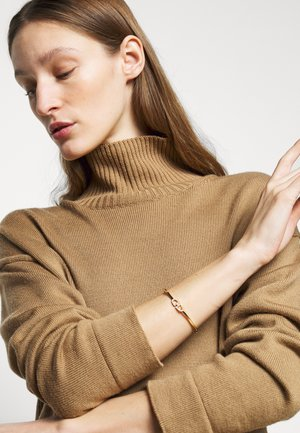 THIN STIRRUP BANGLE - Bransoletka - gold-coloured