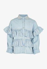 River Island - Button-down blouse - blue - 0