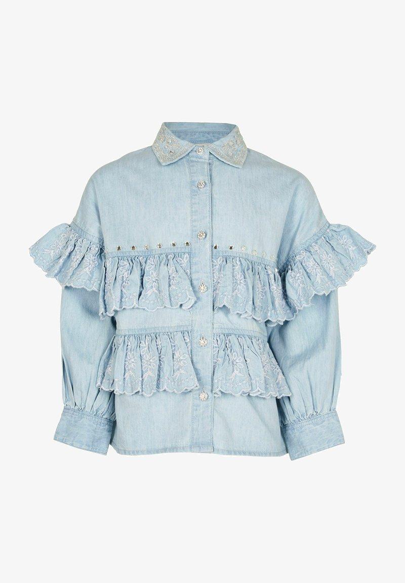 River Island - Button-down blouse - blue