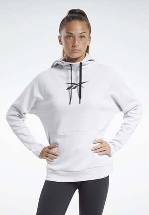 QUIK COTTON VECTOR HOODIE - Hoodie - white