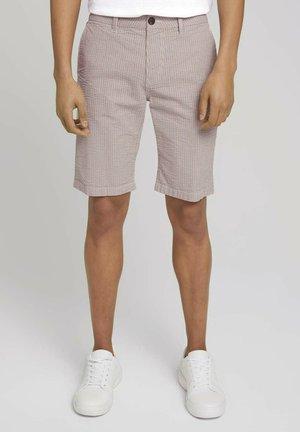 Shorts - navy red white stripe