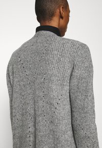 s.Oliver - LANGARM - Cardigan - grey - 5