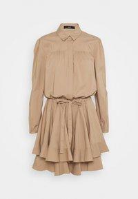 BROOKE FANCY DRESS - Vestido camisero - desert