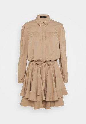 BROOKE FANCY DRESS - Shirt dress - desert