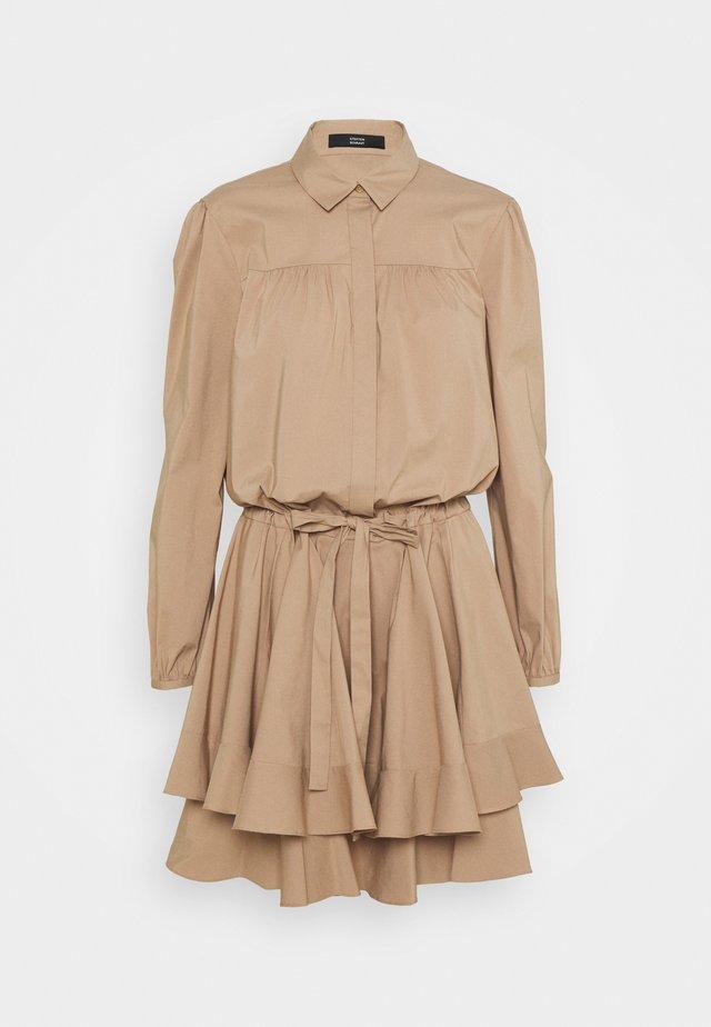 BROOKE FANCY DRESS - Shirt dress - desert