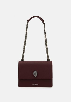 SHOREDITCH CROSS BODY - Across body bag - wine