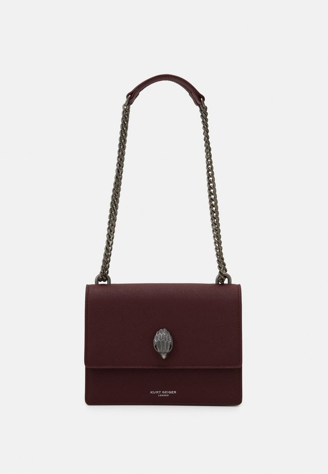 SHOREDITCH CROSS BODY - Sac bandoulière - wine