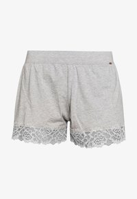 Skiny - DAMEN SLEEP AND DREAM - Pyjama bottoms - stone grey melange - 3