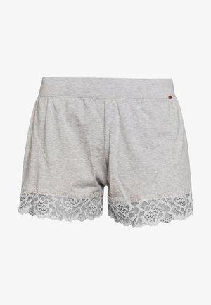 DAMEN SLEEP AND DREAM - Pyjama bottoms - stone grey melange