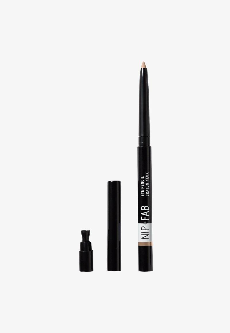 Nip+Fab - EYE PENCIL - Eyeliner - 04 nude