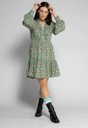 Day dress - smaragdgrün