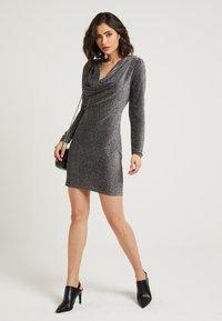 NA-KD - ZALANDO X NA-KD  - Cocktail dress / Party dress - silver - 2