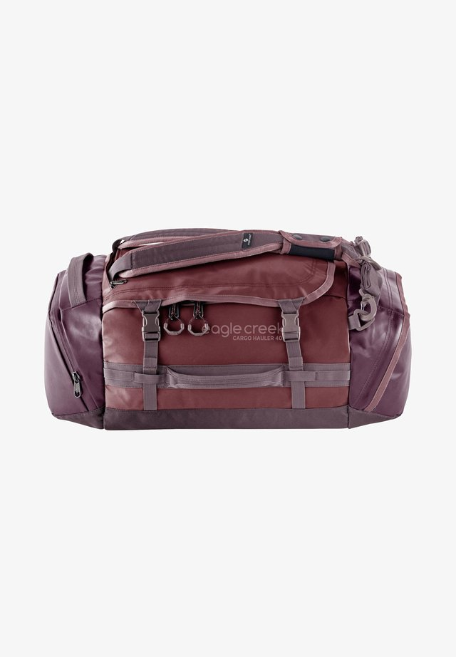 CARGO HAULER DUFFEL - Weekend bag - earth red