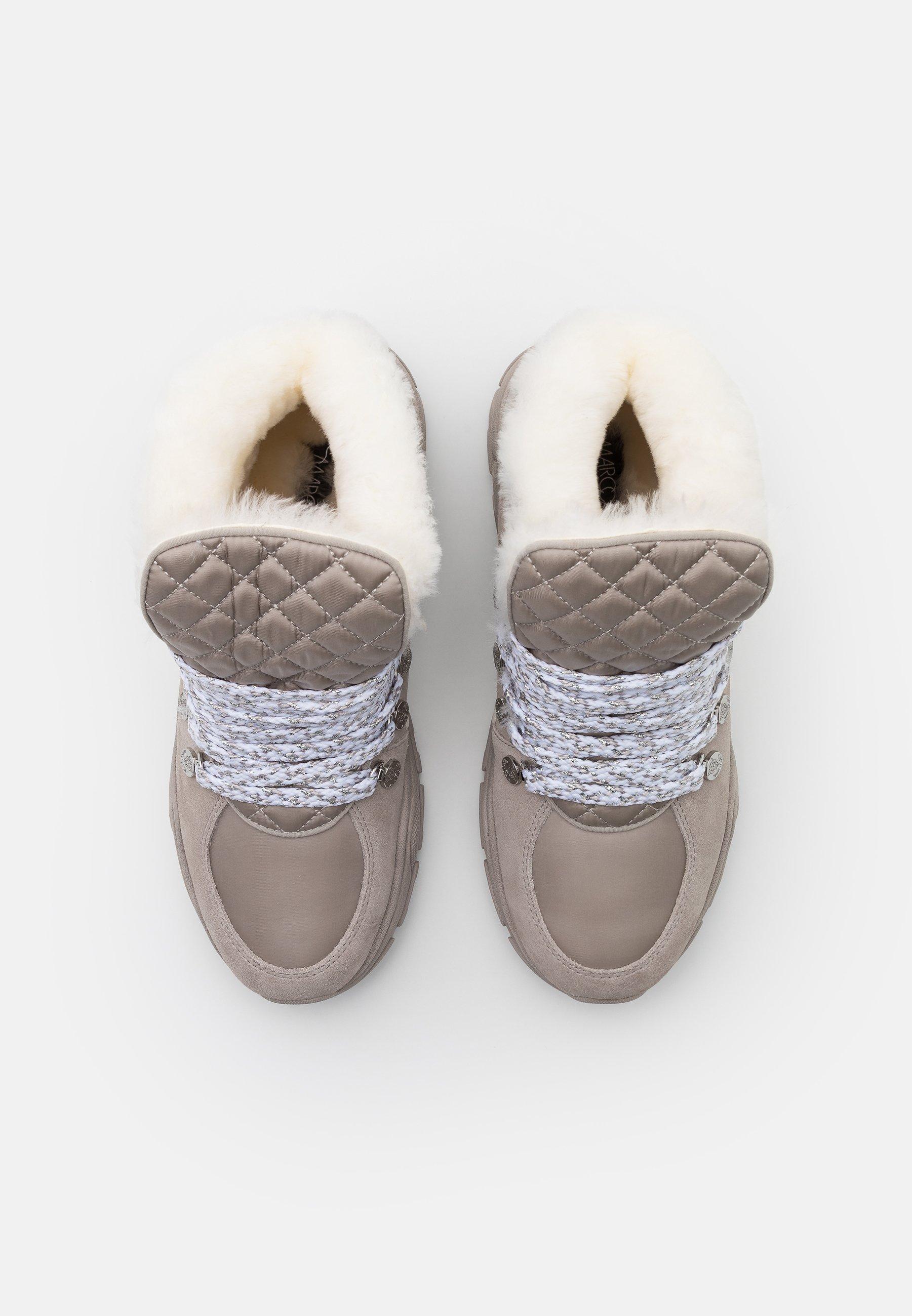 Marc Cain Sneaker high light grey/hellgrau