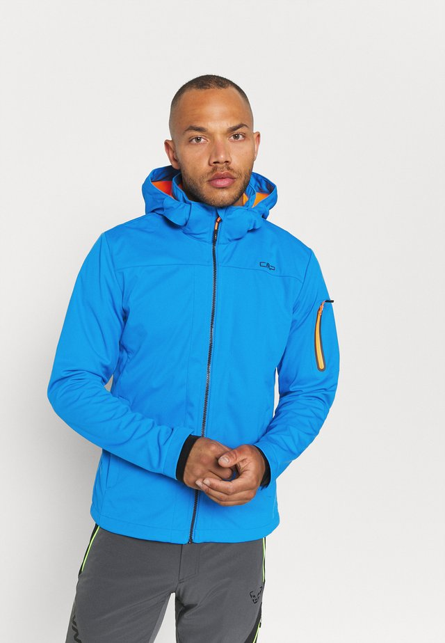 MAN ZIP HOOD JACKET - Veste softshell - regata