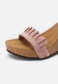 Copenhagen Shoes - SUNDAY MORNING - Platform sandals - rose - 5