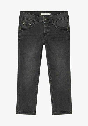 REGULAR FIT - Straight leg jeans - black denim