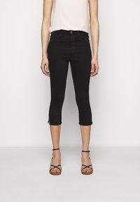 Frame Denim - LE HIGH PEDAL PUSHER - Jeans Skinny - film noir - 0